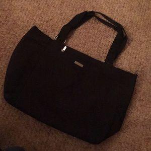 Never Worn Black Nylon Shoulder Bag